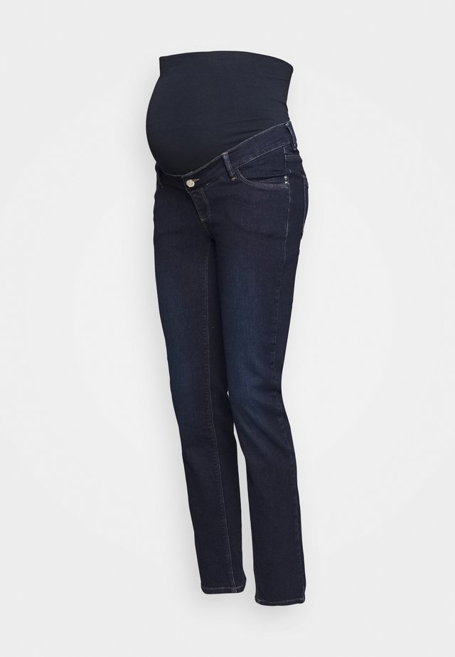 PANTS - Jeans straight leg - darkwash