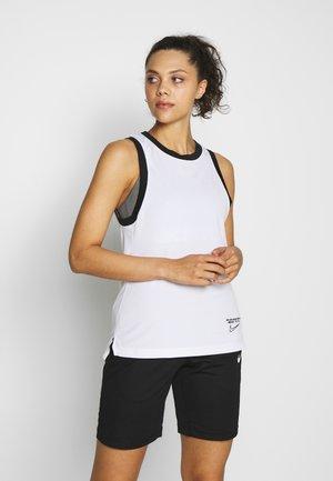 DRY TOP - T-shirt sportiva - white/black