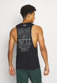 Under Armour - ROCK SAME GAME TANK - Débardeur - black - 2