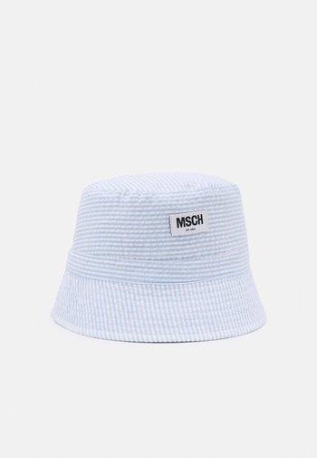 BALOU BUCKET HAT - Klobouk - white/light blue