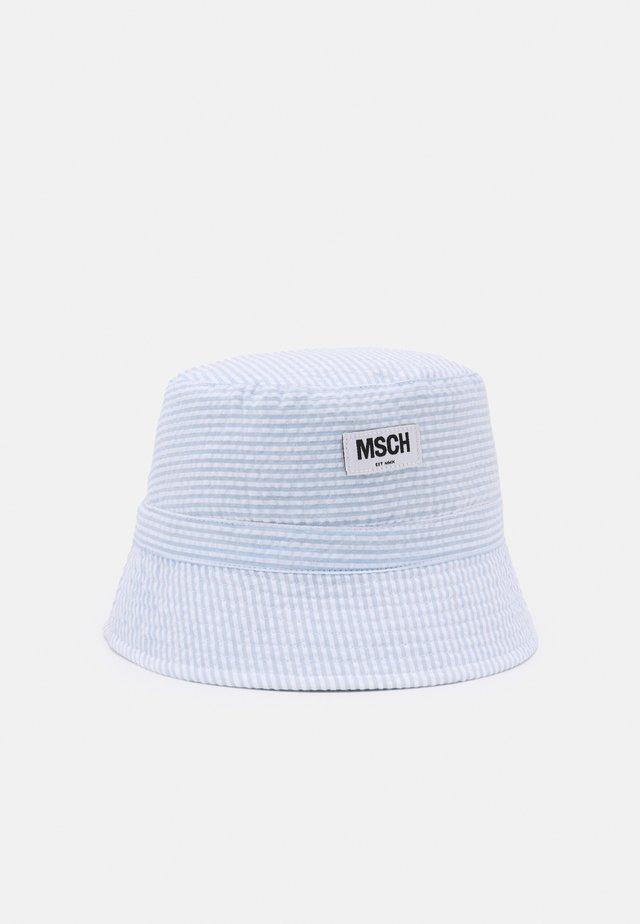 BALOU BUCKET HAT - Hatt - white/light blue