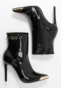 Versace Jeans Couture - HIGHT TOP STILETTO  - High heeled ankle boots - nero - 3