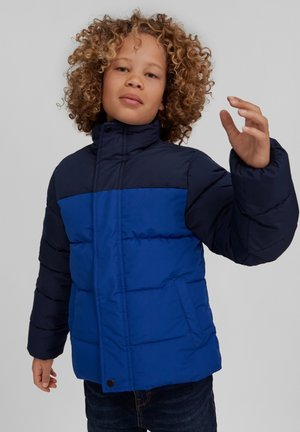 CHARGED PUFFER - Winter jacket - blue