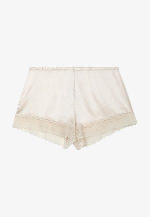 MIT SPITZE - Pyjama bottoms - crema di latte