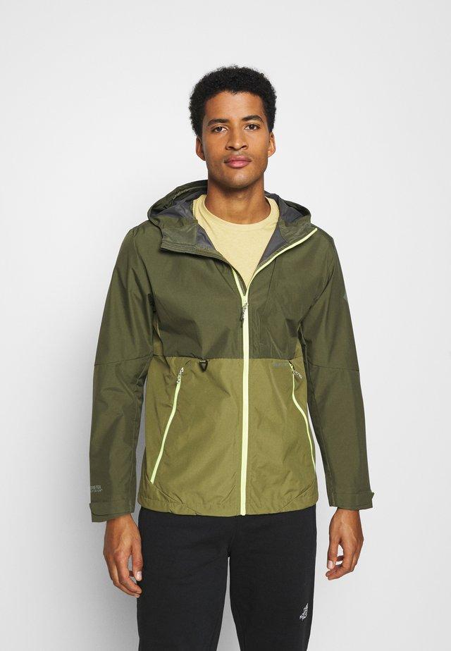 Hardshell jacket - olive