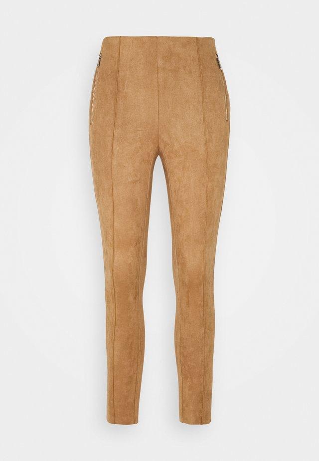 VMCAVA  - Leggings - Trousers - tobacco brown