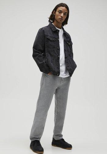 Kurtka jeansowa - mottled dark grey