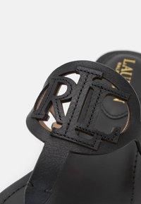 Lauren Ralph Lauren - AUDRIE - T-bar sandals - black - 6