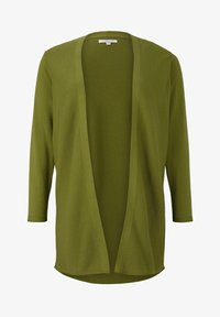 MY TRUE ME TOM TAILOR - Cardigan - wood green - 4
