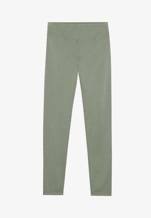 Leggings - Trousers -  verde salvia