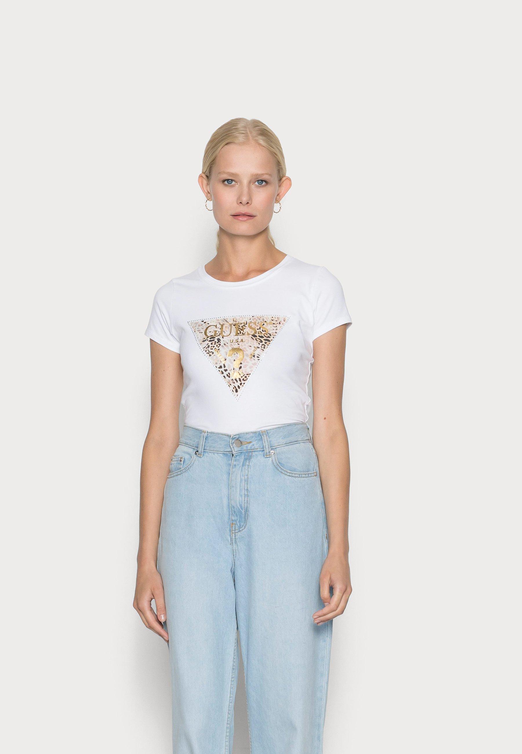 Women GHOST LOGO - Print T-shirt