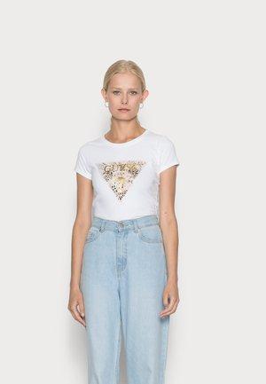 GHOST LOGO - Print T-shirt - pure white