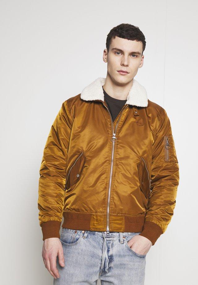 Light jacket - tabac/enzian