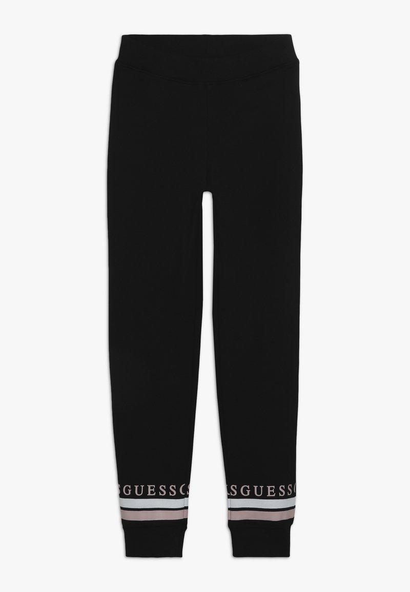 Guess - JUNIOR EXCLUSIVE ACTIVEWEAR - Teplákové kalhoty - jet black