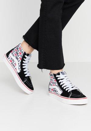 SK8 - Sneakers high - black/true white