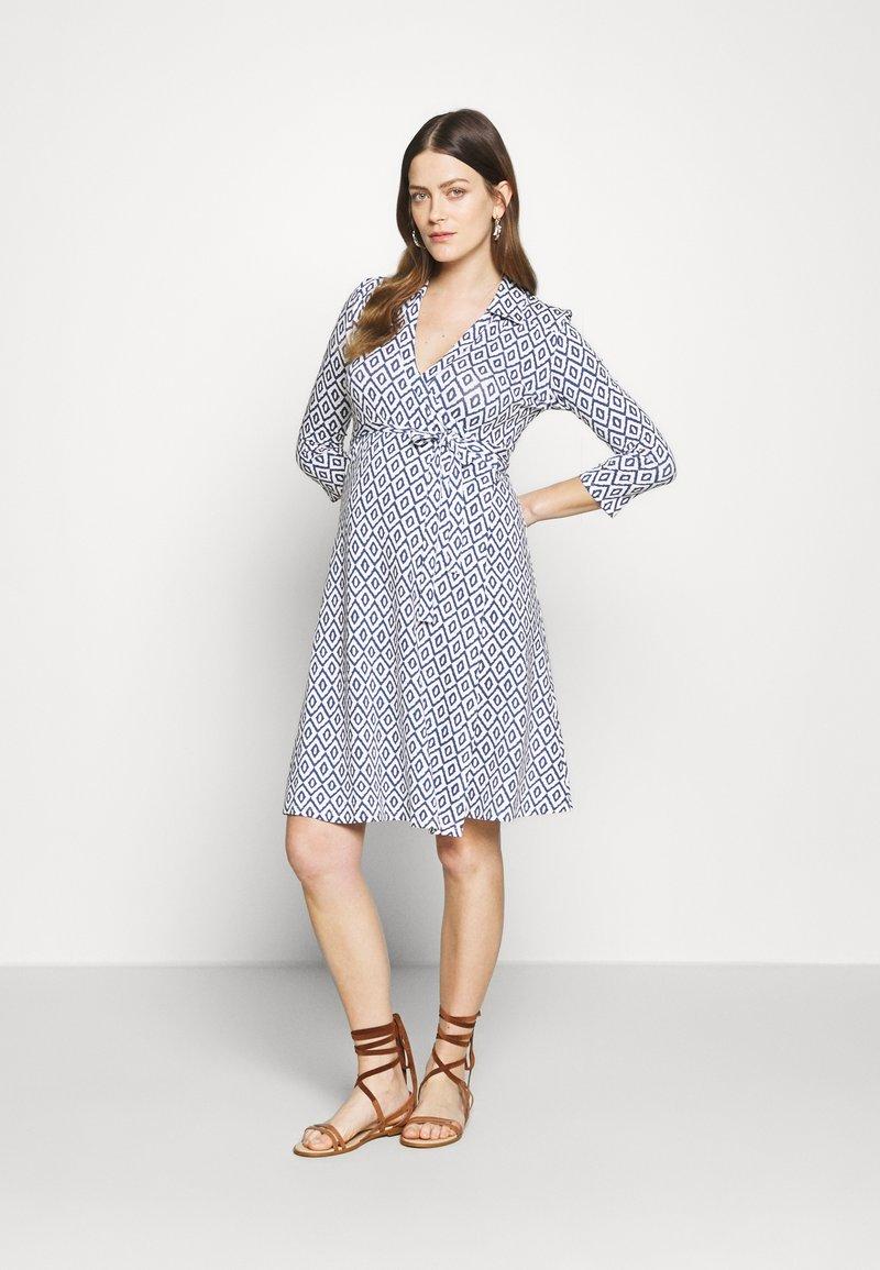 Slacks & Co. - AVA - Jersey dress - aztec blue