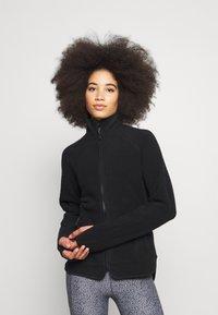 ARKET - Fleecová bunda - black - 0