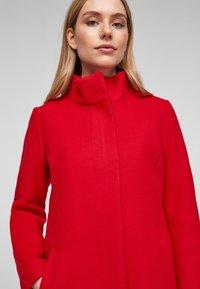 s.Oliver - Classic coat - red - 4