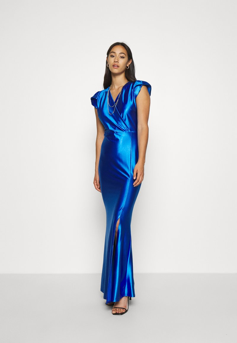 WAL G. - FLARE SLEEVE MAXI DRESS - Occasion wear - electric blue