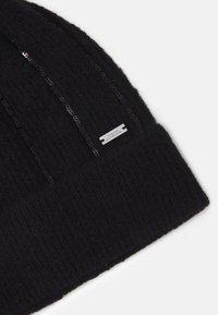 Armani Exchange - BEANIE HAT - Beanie - black - 3