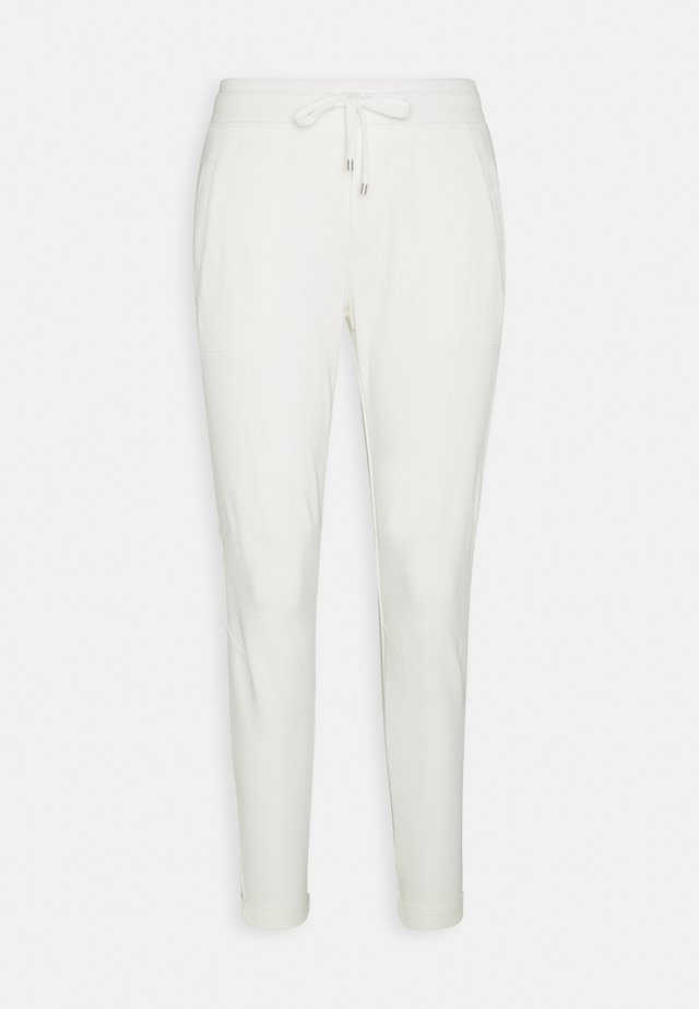 EASY FRENCH TERRY - Pantaloni - pale cream