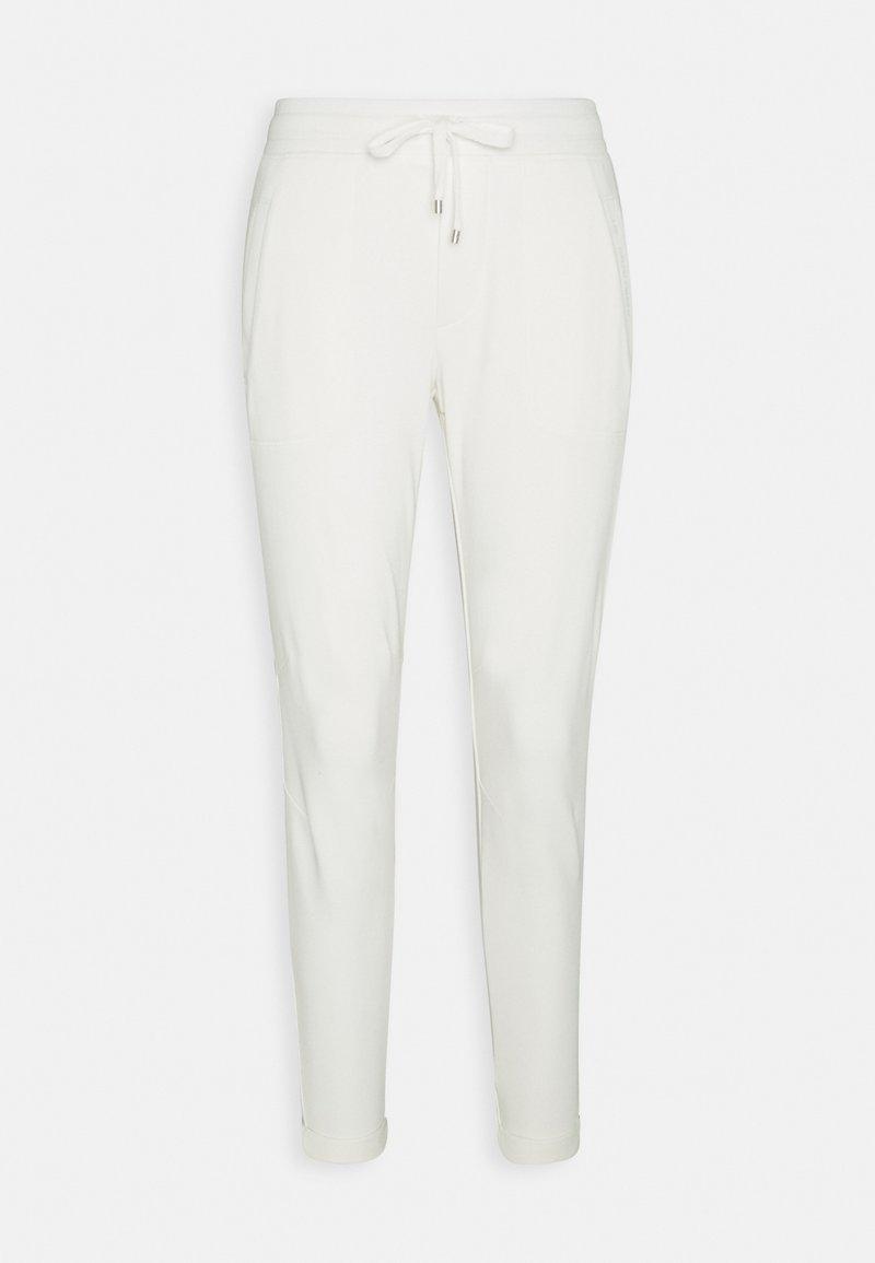 Lauren Ralph Lauren - EASY FRENCH TERRY - Trousers - pale cream