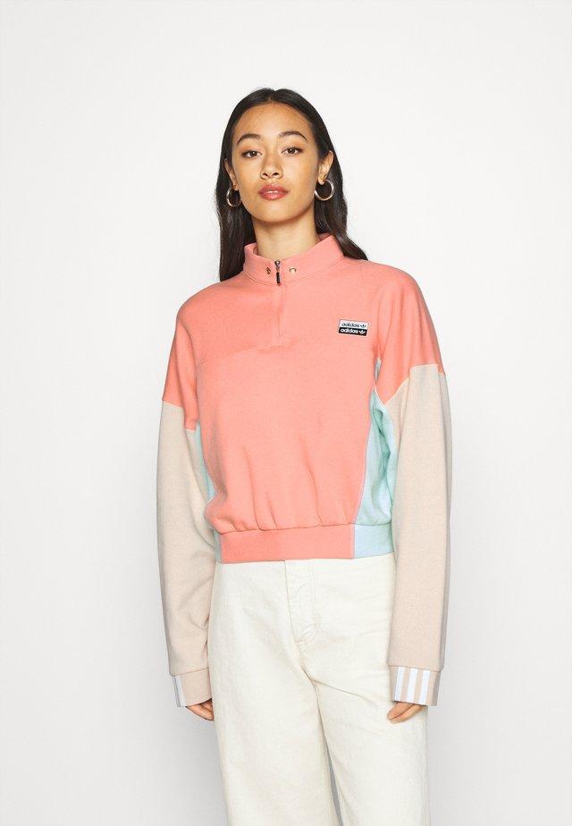 CROPPED - Sweatshirt - trace pink