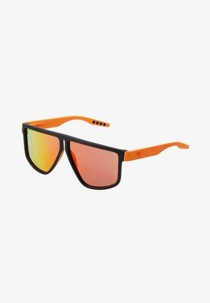 Occhiali da sole - black/orange/red