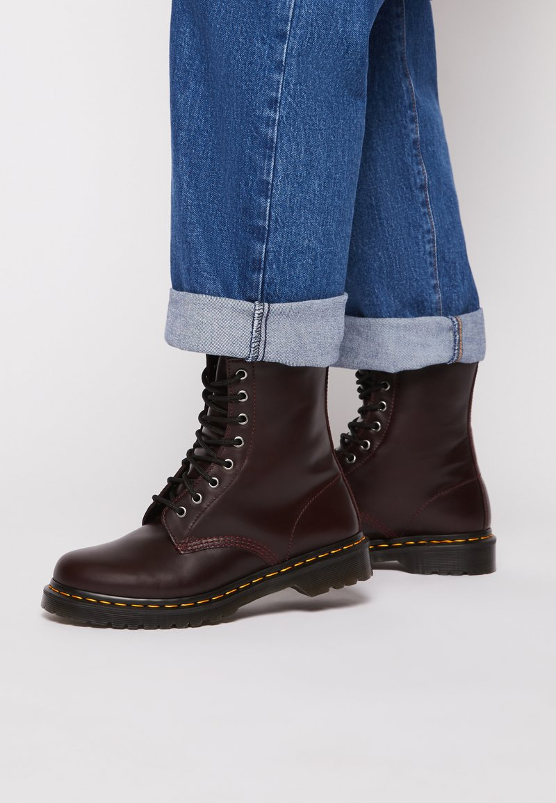 Dr. Martens - 1460 SERENA - Lace-up ankle boots - oxblood