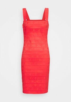 Jersey dress - amaranto