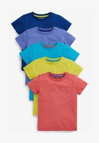 Next - 5 PACK  - T-shirt basic - blue - 0