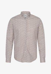 MINNESOTA LS - STRIPE/CHECK - Shirt - off white