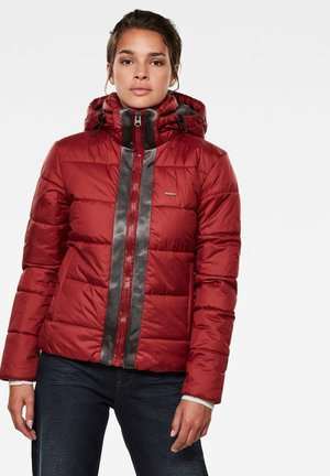 MEEFIC HOODED PADDED  - Winter jacket - dry red