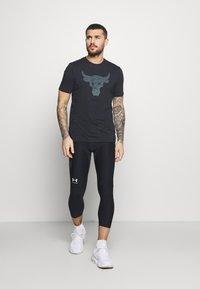 Under Armour - LEGGING - Leggings - black - 1
