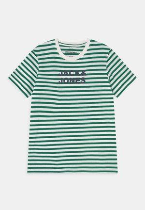 JJVARDANT TEE CREW NECK JR - Print T-shirt - verdant green