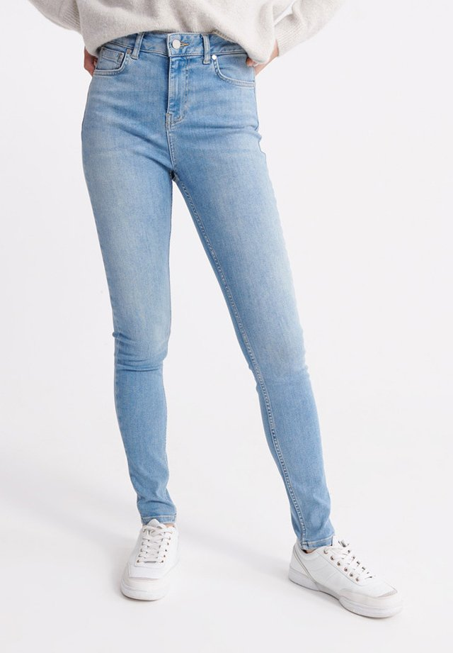 HIGH RISE - Jeans Skinny Fit - light indigo vintage