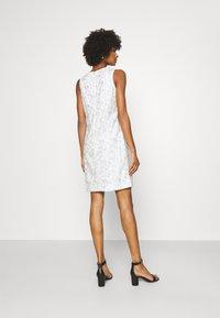 Lauren Ralph Lauren - MELLIE SLEEVELESS EVENING DRESS - Cocktail dress / Party dress - white/silver - 2