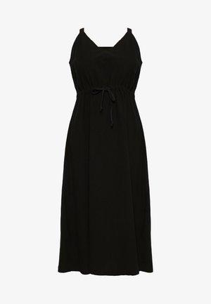 LUISE STRAP DRESS - Vapaa-ajan mekko - black