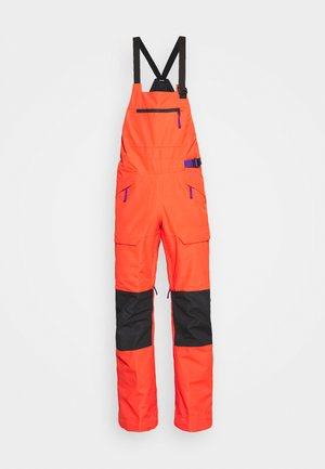 TEAM KIT  - Snow pants - flare/tnf black