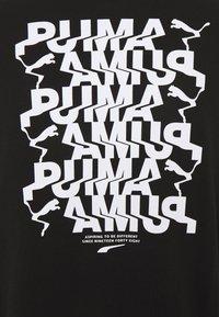Puma - AVENIR GRAPHIC CREW - Sweatshirt - black - 2