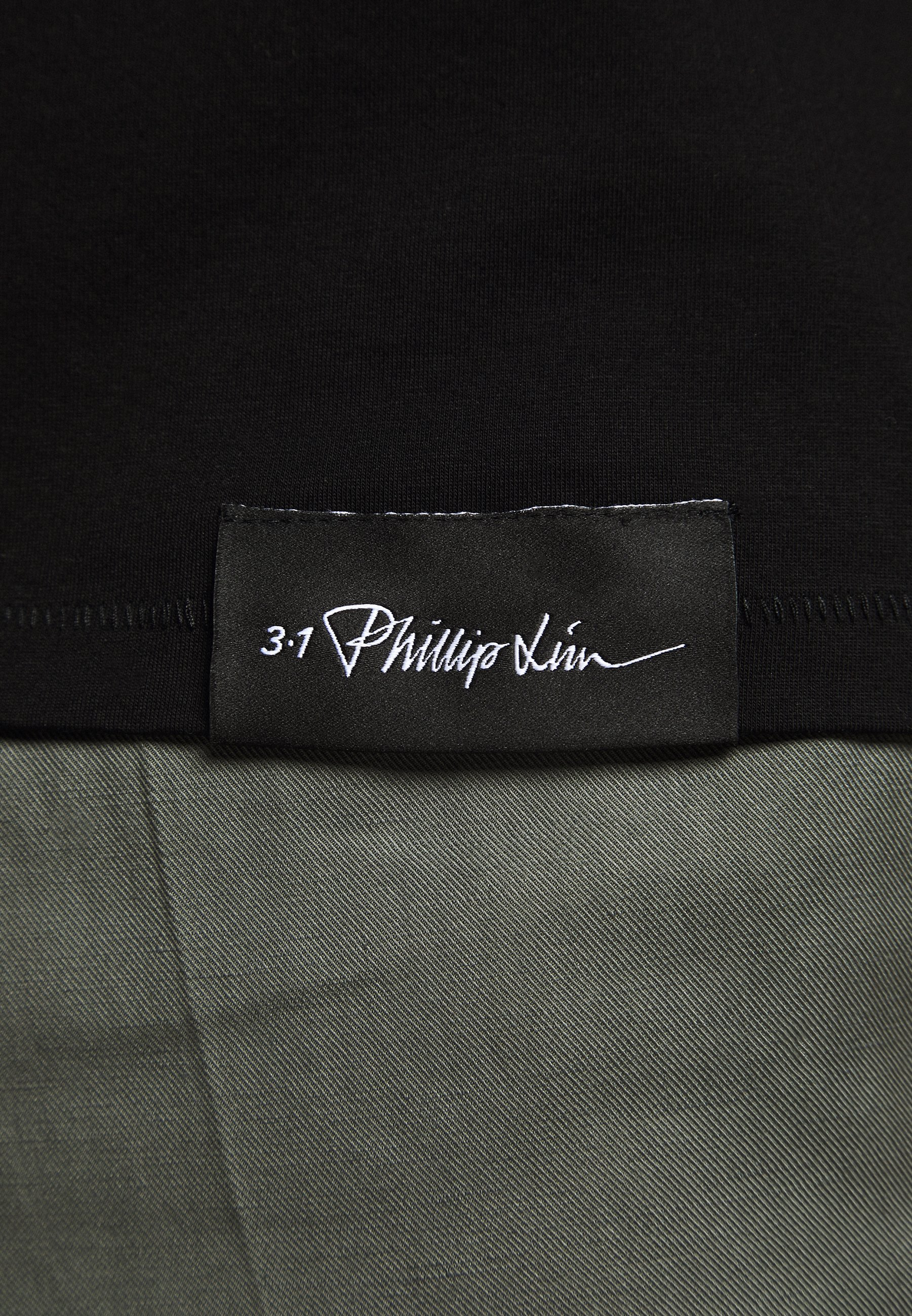 3.1 Phillip Lim Oversized Boxy Crewneck Tee - T-shirt Basic Black