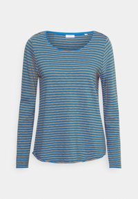 Marc O'Polo DENIM - LONG SLEEVE CREW NECK STRIPED - Long sleeved top - multi/cornflower - 0