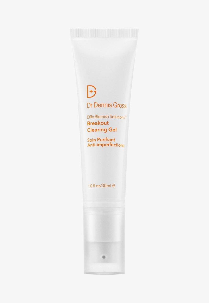 Dr Dennis Gross - DRX BLEMISH SOLUTION BREAKOUT CLEARING GEL - Oczyszczanie twarzy - -