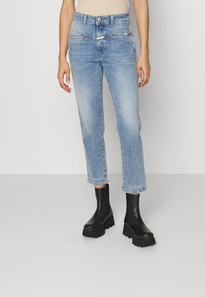 PEDAL PUSHER - Jeans Straight Leg - mid blue