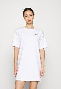 Fila - ELLE TEE DRESS - Sukienka z dżerseju - bright white - 0