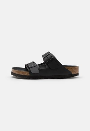 ARIZONA TRIPLE UNISEX - Sandalias planas - black