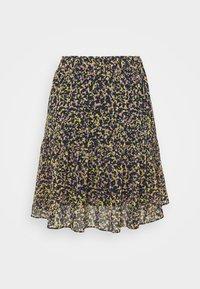 Scotch & Soda - PRINTED SHORTER LENGTH SKIRT - Mini skirt - multicoloured - 1