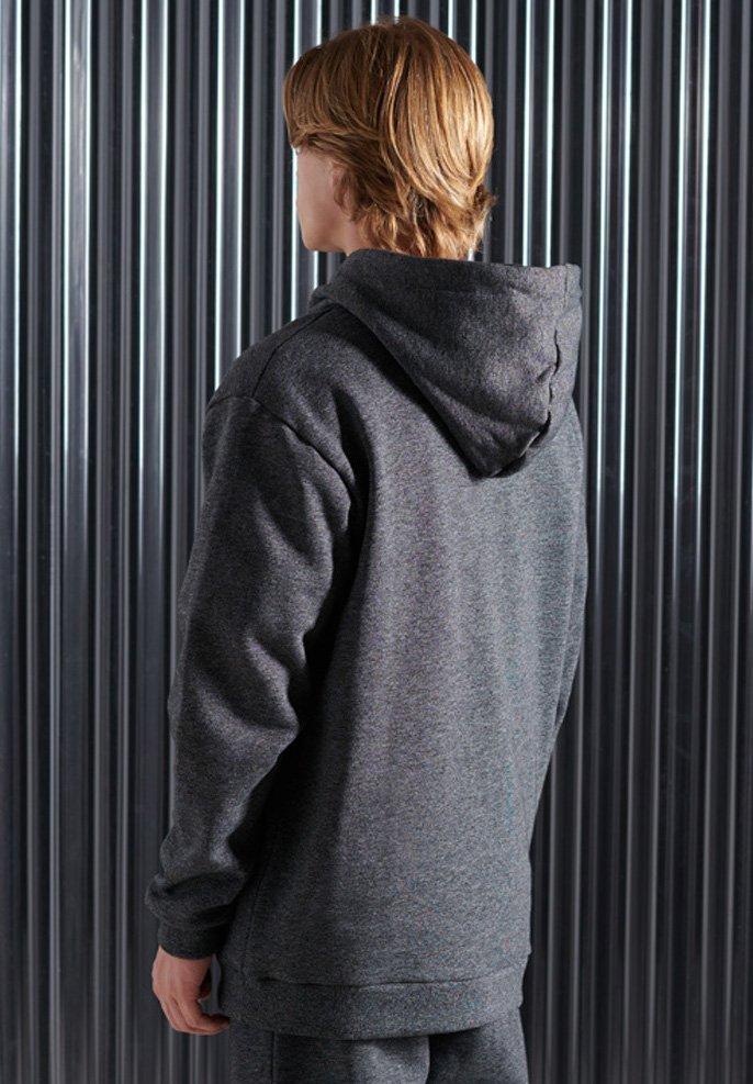 Superdry Kapuzenpullover - dark grey/dunkelgrau 22s3zu
