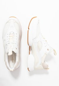 Cole Haan - ZEROGRAND CITY TRAINER - Sneaker low - optic white/ivory/camel - 3