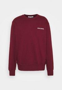 LOGO UNISEX - Sweatshirt - darkred